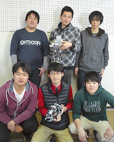 ロボット競技会で入賞