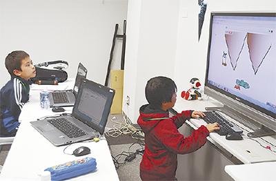 小学生がゲーム制作