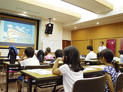 夏休み親子講座を初開催