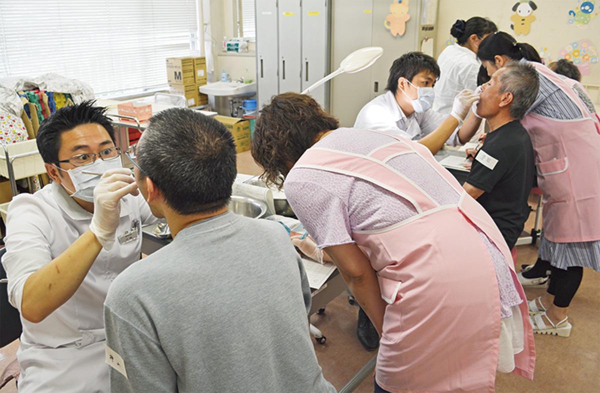 歯周病の予防法学ぶ