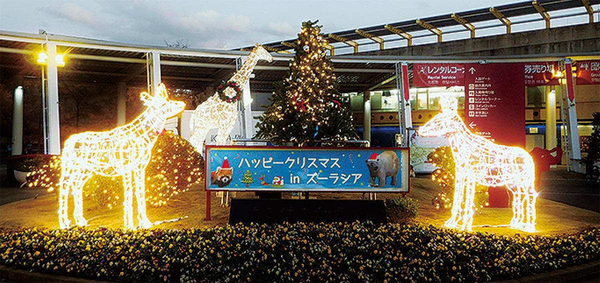 ズーラシアのクリスマス