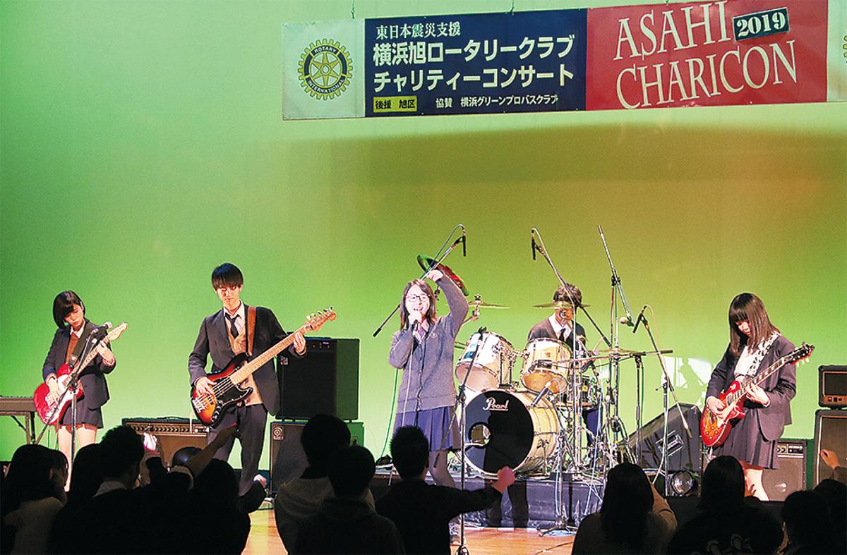 学生主役のコンサート