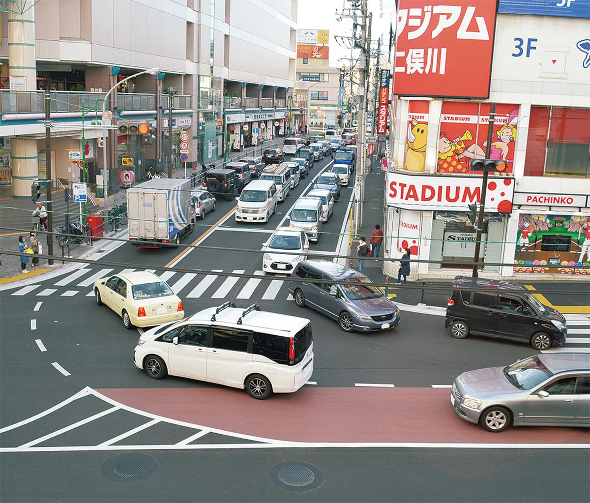 改良工事で渋滞緩和