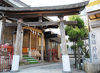 三ツ境の昔を伝える白姫神社