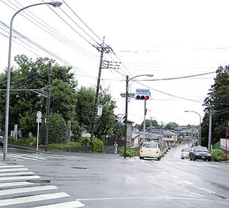かまくら道沿いに広がる本郷地区