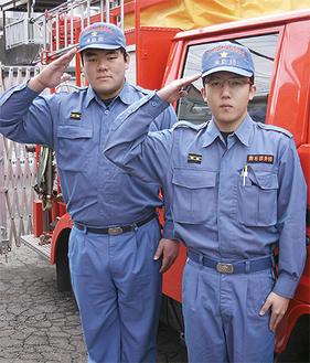活躍が期待される鈴木さん(左)と藤崎さん