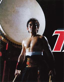 日本太鼓奏者TAKERU