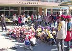 園児・父母ら約700人が参加