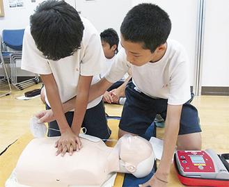 AEDを使う貴重な経験