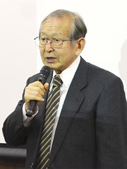 自らも脳梗塞を経験した上野代表