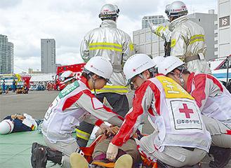 寄付金が赤十字活動の要