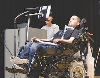 参加者の質問に答える藤田さん