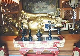 観音寺・涅槃像