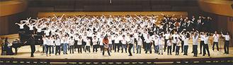 熱唱する団員ら※写真提供/鈴木誠さん