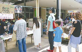 熊本産食材のメニューに長蛇の列(昨年)