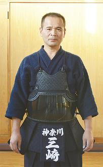 八段に合格した三崎さん(昨年9月撮影)