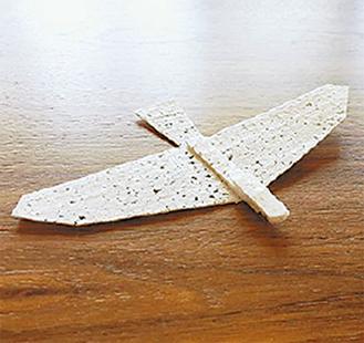 発砲スチロール製の飛行機を作る