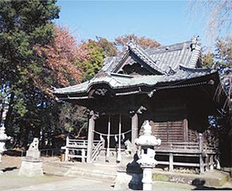 熊野神社を見学する