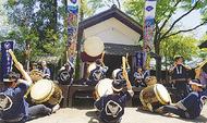 隼人和太鼓部と初コラボ