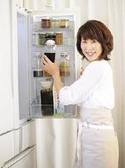 食品ロス削減、冷蔵庫から