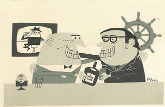 アンクルトリスと柳原良平(1970年代)