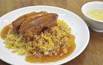 中華食堂志藤の「角煮のせチャーハン」