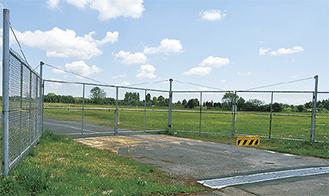 広大な土地が残されている旧上瀬谷通信施設
