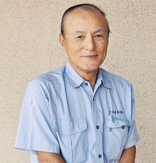 小島造園(株)の会長を務める高橋さん