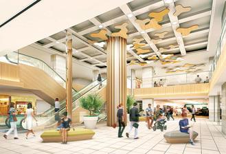 3階にはコミュニティスペースが設けられる(イメージ)※相鉄ビルマネジメントより写真提供