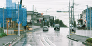 周辺通学路の交通量減少