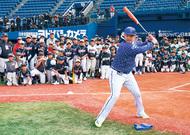 小学生3千人に野球指導