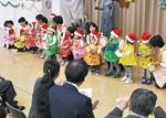 院内保育の子どもたちが合唱
