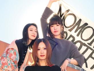 波木井さん(中央)、岸部さん(左)、島田さん(バンド提供)