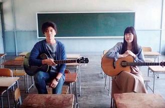 多田さん(写真右)とTomoさんから成るデュオ