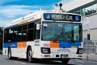 今回の実証実験で使用されるバス