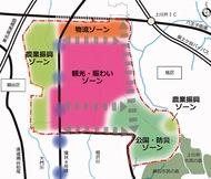 土地利用の素案固まる