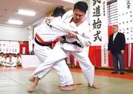力強い柔剣道で試合白熱
