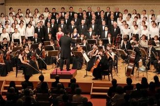 昨年末には第九コンサートを開催※実行委員会より写真提供