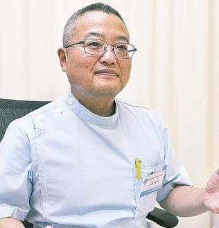 瀬谷区医師会の池部副会長