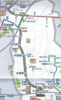図:瀬谷区役所『区民生活ガイド-せや百科2019』p24,25の部分