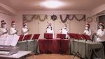 ジングルベルなどのクリスマス曲をハンドベルで披露