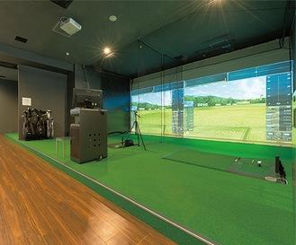 本格的なシミュレーションゴルフ