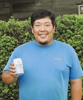 横浜ウィートを持つ岩崎さん