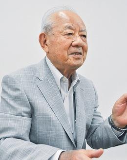 再開発の歴史を振り返る川口理事長