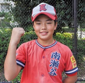 大会優勝を目標に掲げる小田倉選手