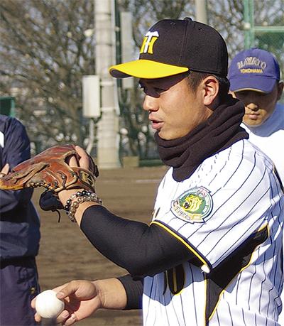 隼人OBプロ選手が指導