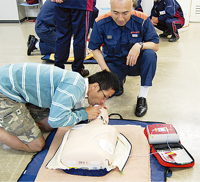 地域に広める救急法
