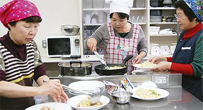 地元野菜でエコ料理