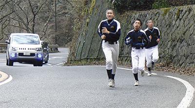 箱根の山登りを体験