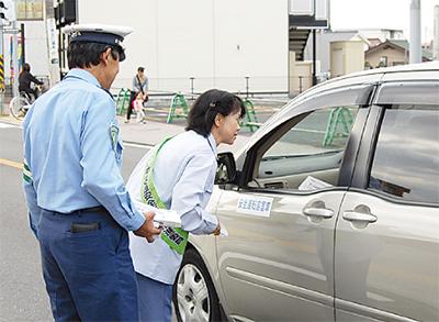 違法駐車の追放を強化